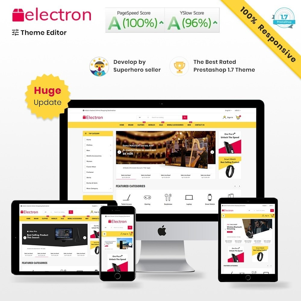 Electron Mega Electronic Super Store Template