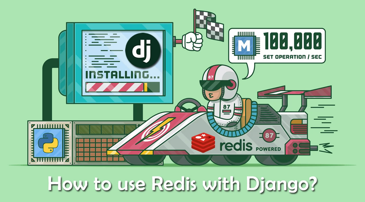 How to use Redis with Django?