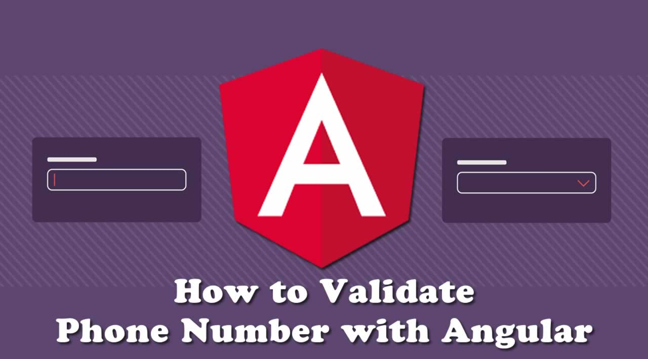 How to Validate Phone Number with Angular