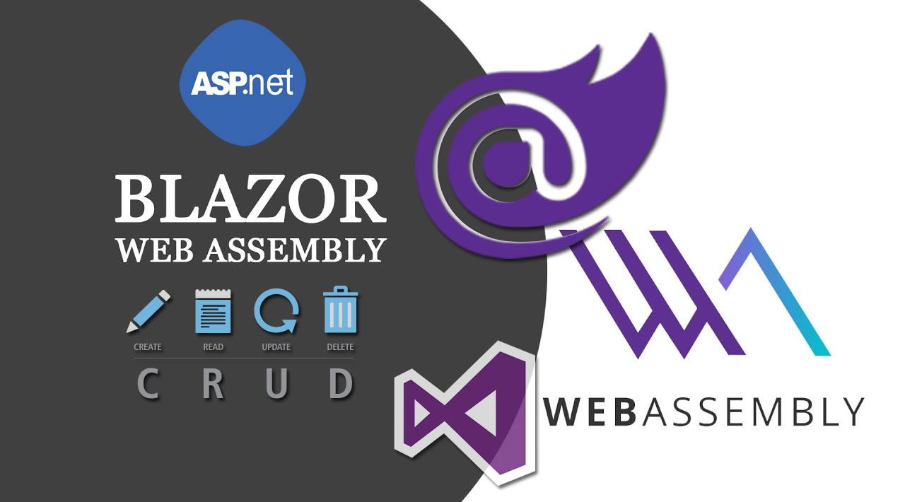 Create CRUD App with ASP.NET Core, Blazor WebAssembly, Web API, VScode