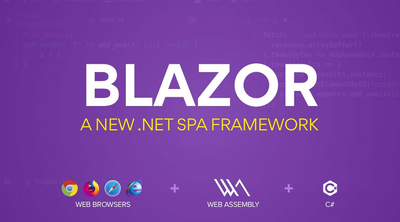 Blazor Tutorial - SPA framework for .NET Developers