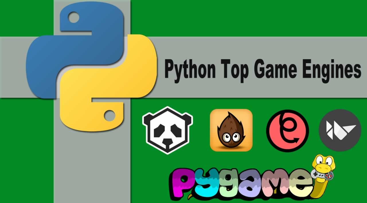 Python Top Game Engines Introduction & Installation In 2020