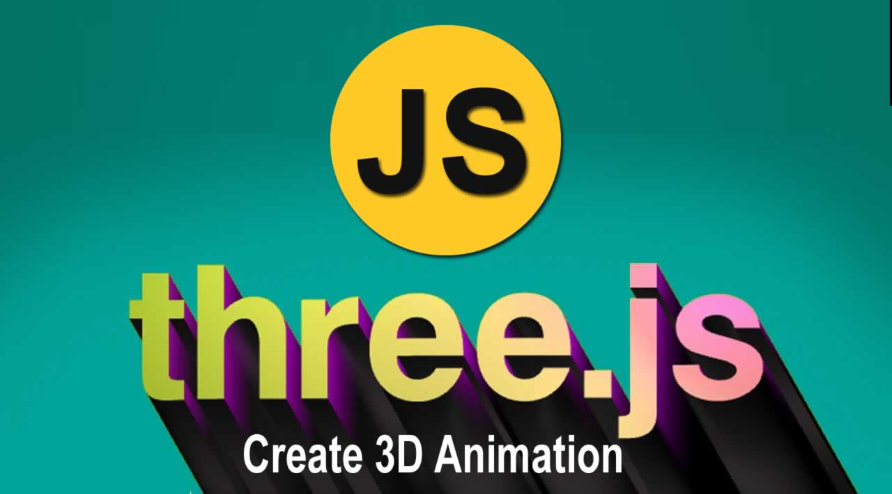 How to create 3D Animation With Javascript for Beginners