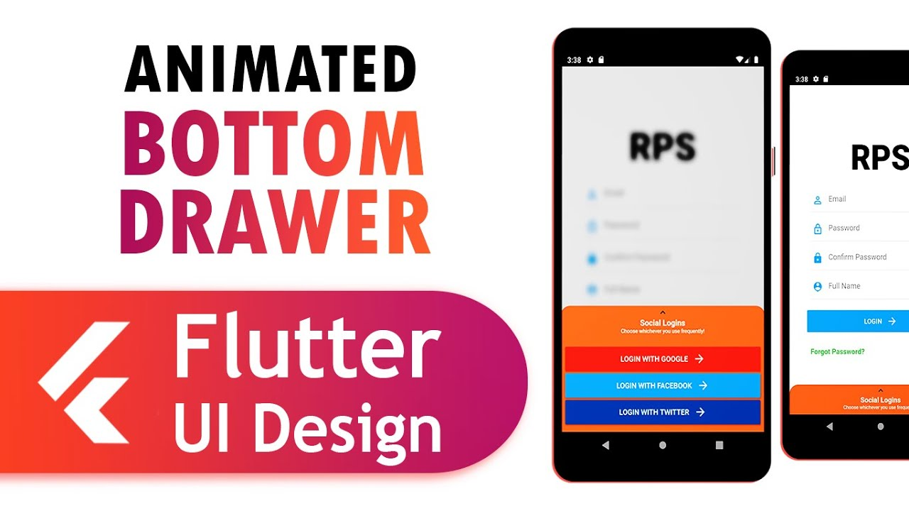 How to create awesome cartoon drawers using Flutter