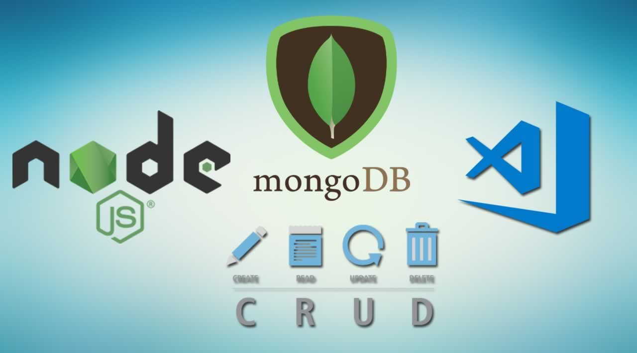 CRUD Operation in MongoDB with Node.js and VS Code