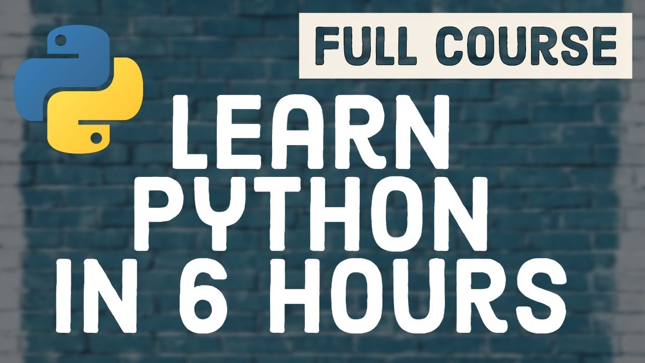 Full Python Course for Beginners [2020]