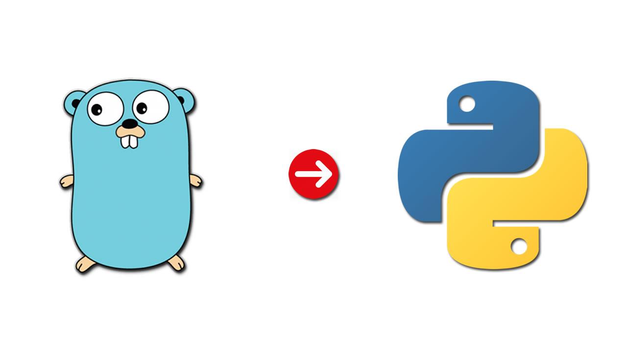 Go (Golang) to Python
