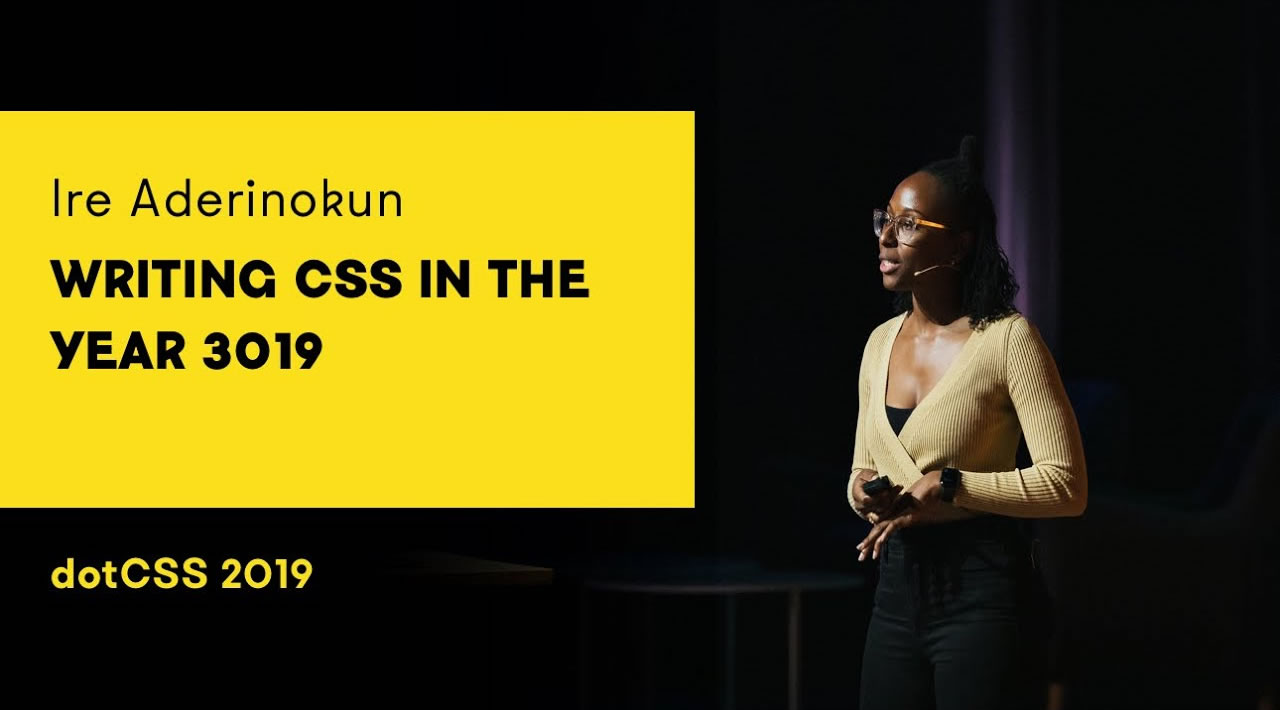 Writing CSS in the year 3019