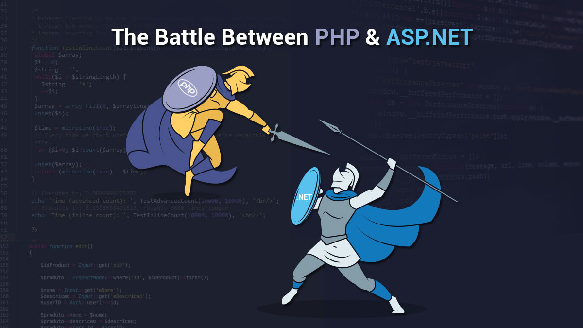 PHP Vs ASP.NET: How to Choose the Right One?