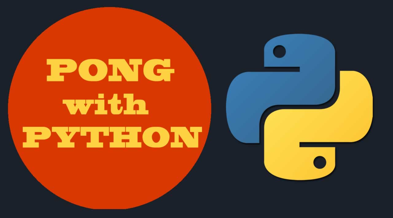 How to program PONG with PYTHON for Beginners