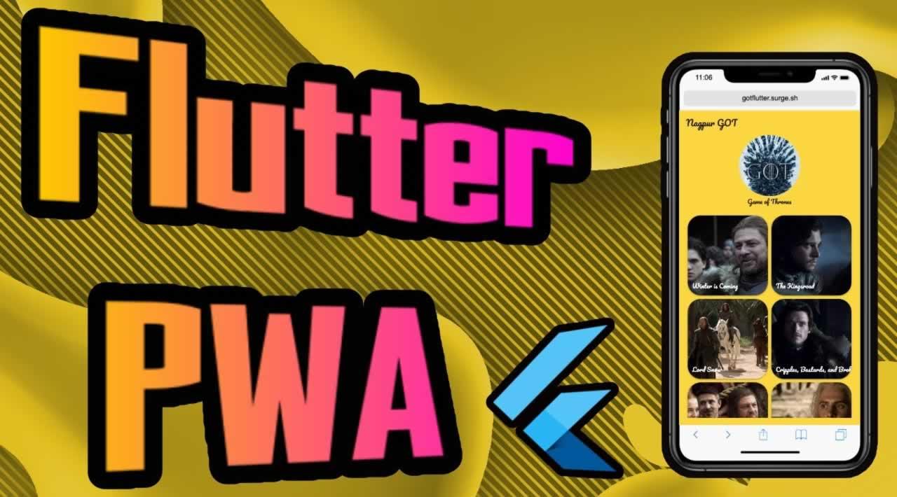 Flutter PWA Tutorial - 1/2