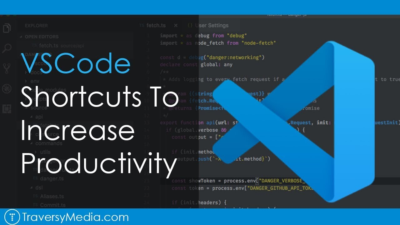 VSCode Keyboard Shortcuts For Productivity