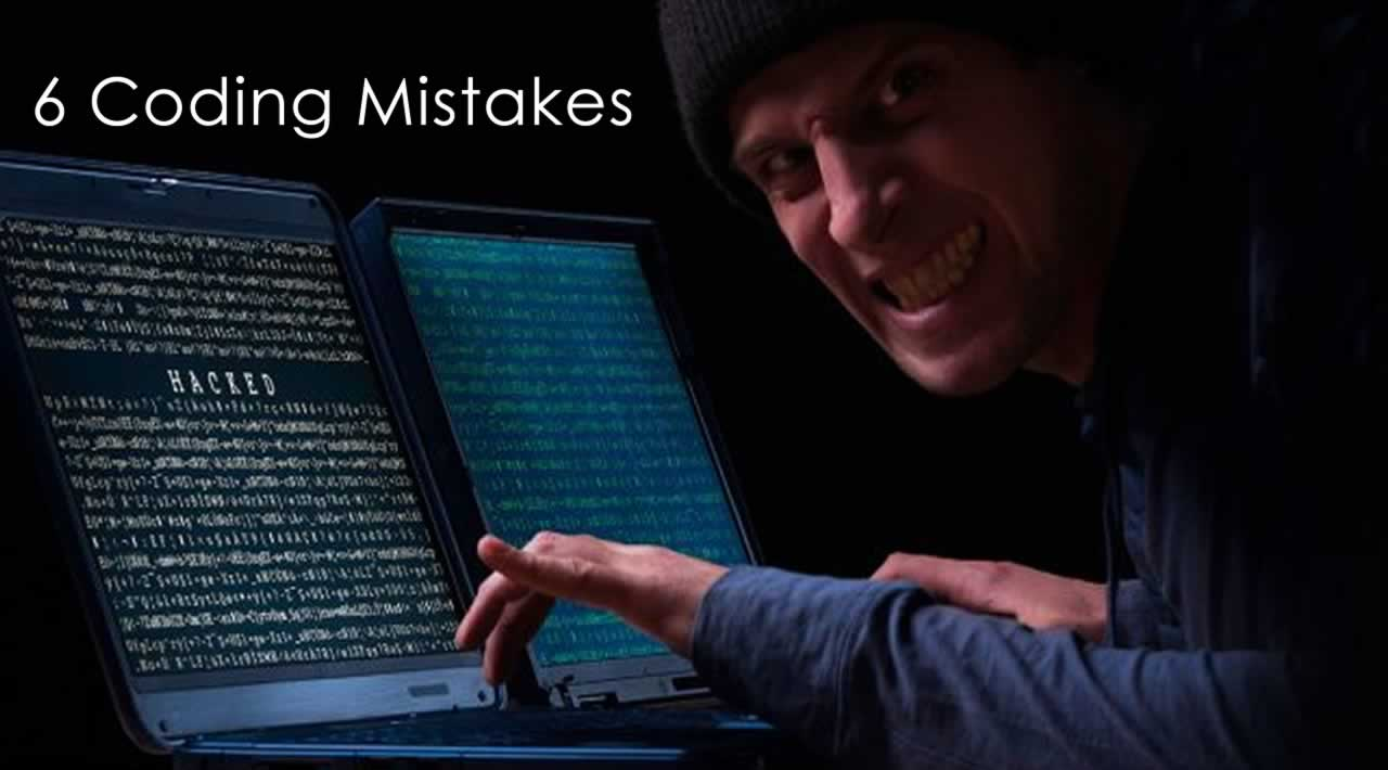 6 Coding Mistakes that many developers make