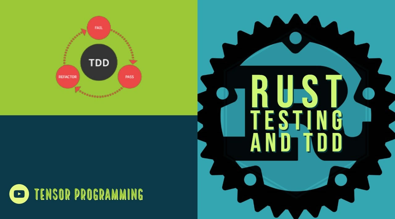 Rust Testing and TDD - An Intro to Testing and Test Driven Development