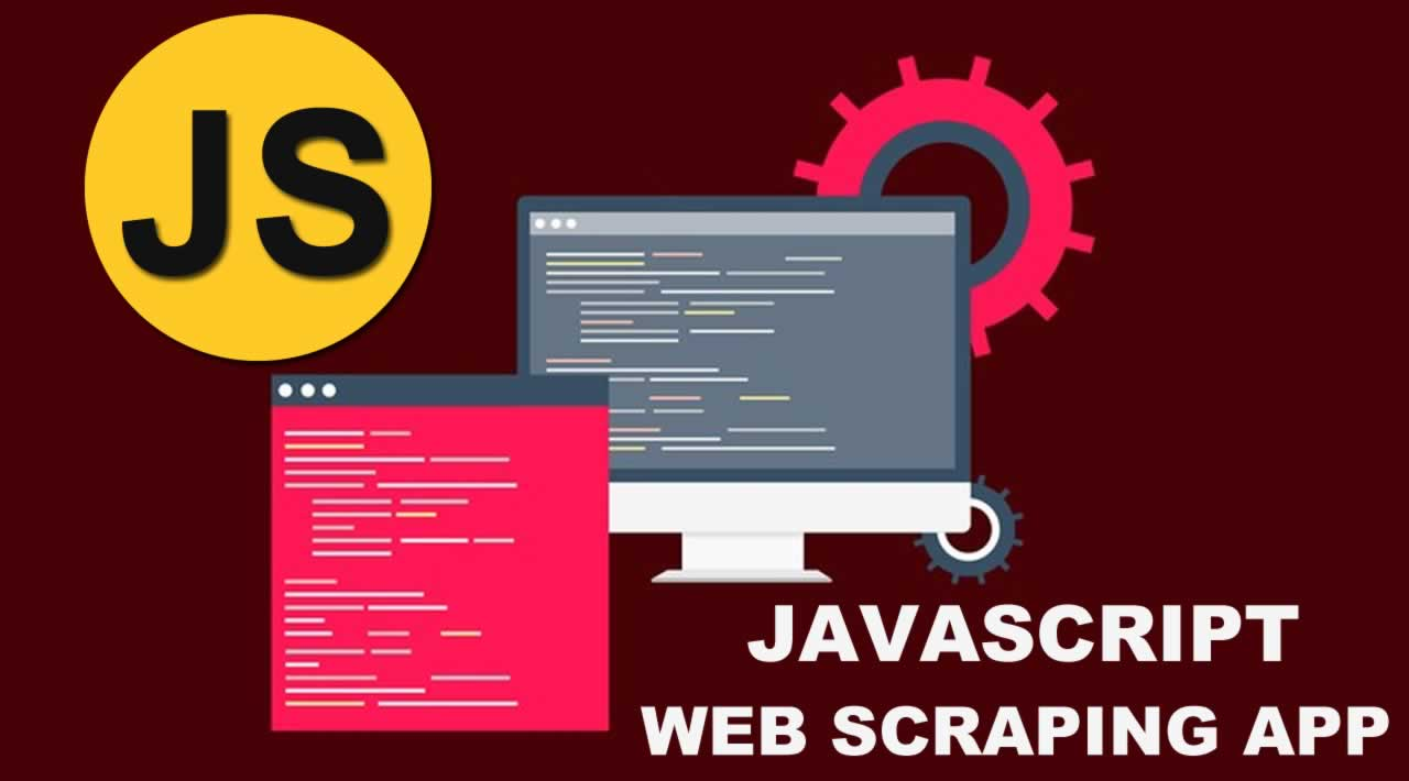 Building a full stack WEB SCRAPING app with JAVASCRIPT for Beginners