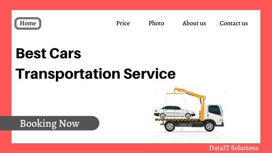 Cars Transportation Website Design