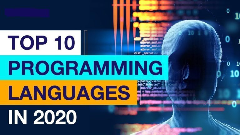 According to GitHub top 10 programming languages that will be used prominently in 2020