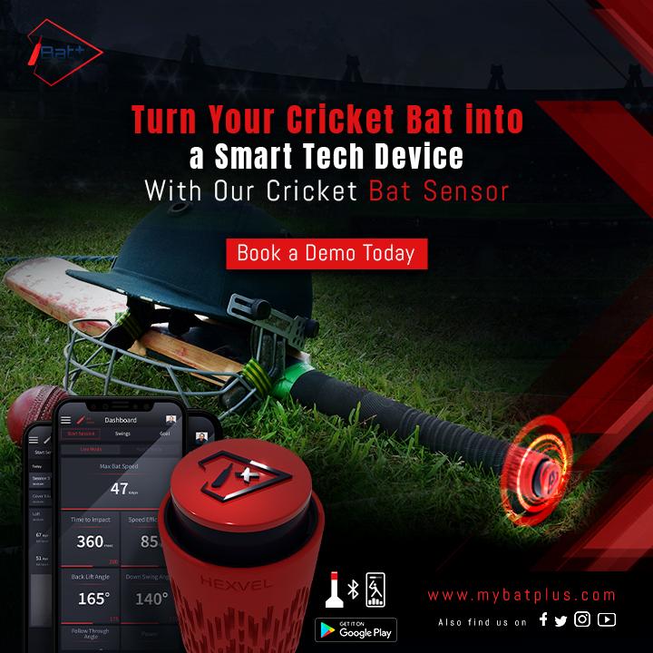 Iot Based Smart cricket bat sensor to Improve Batting Skills.