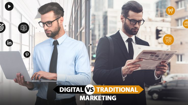 4 Reasons Why You Should Choose Digital Marketing Over Traditional