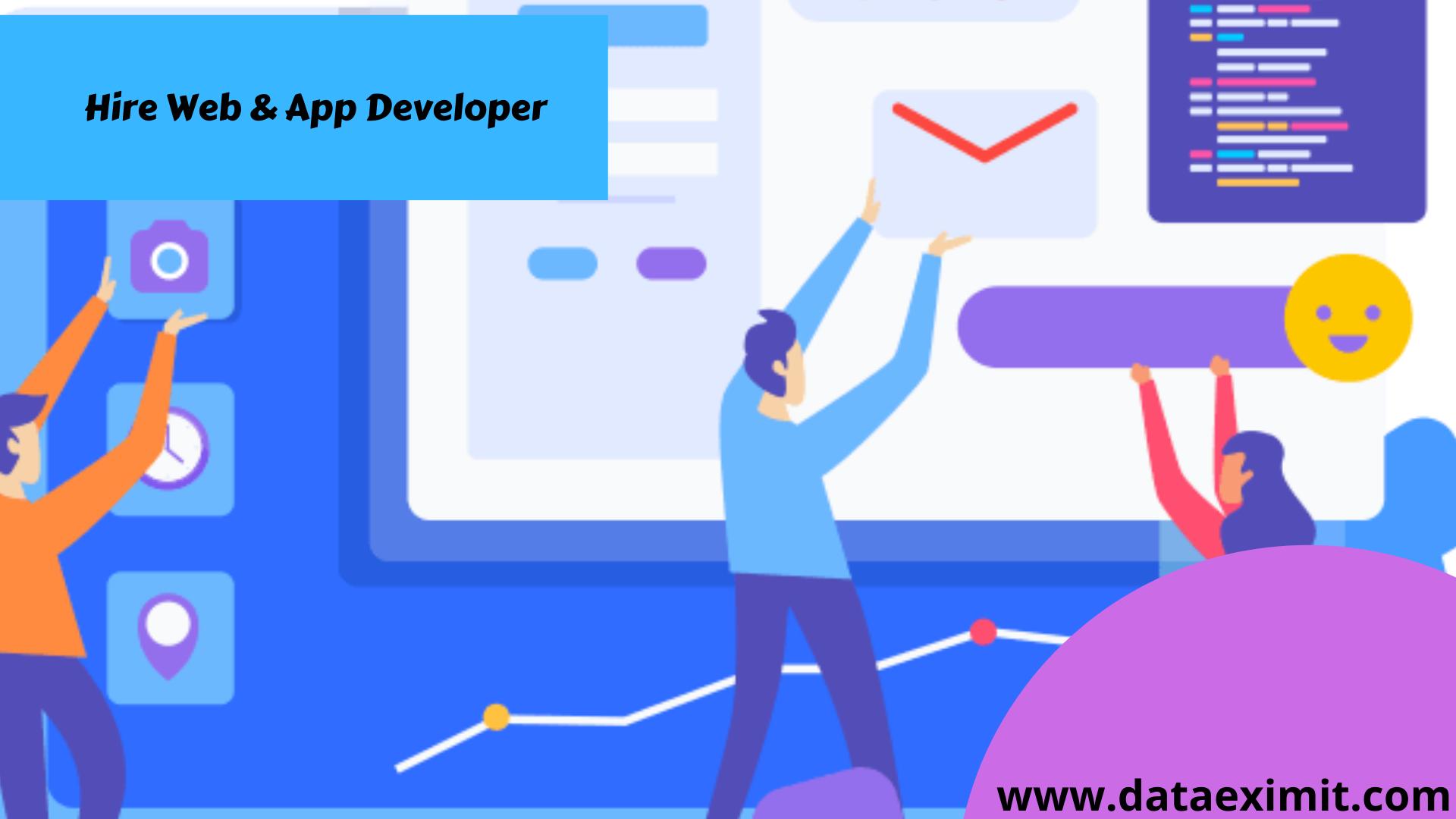 Hire Web & App Developer