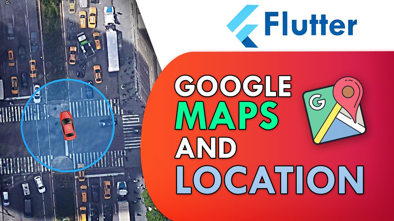 Flutter Google Maps and Live Location Tracking