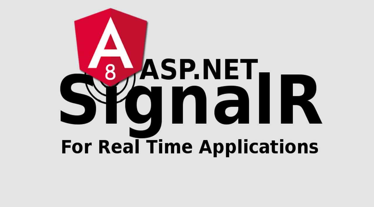 Building a Chat application with Angular 8, SignalR and ASP.NET Core