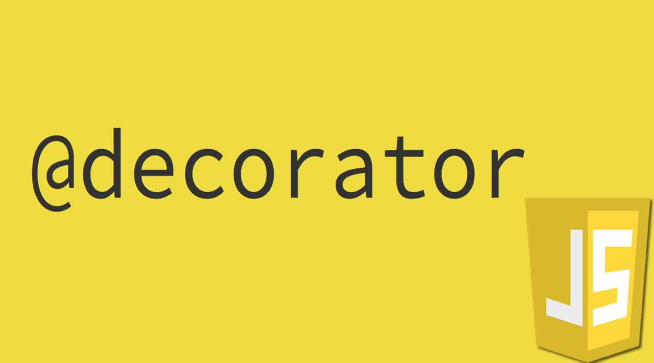 Decorator in JavaScript