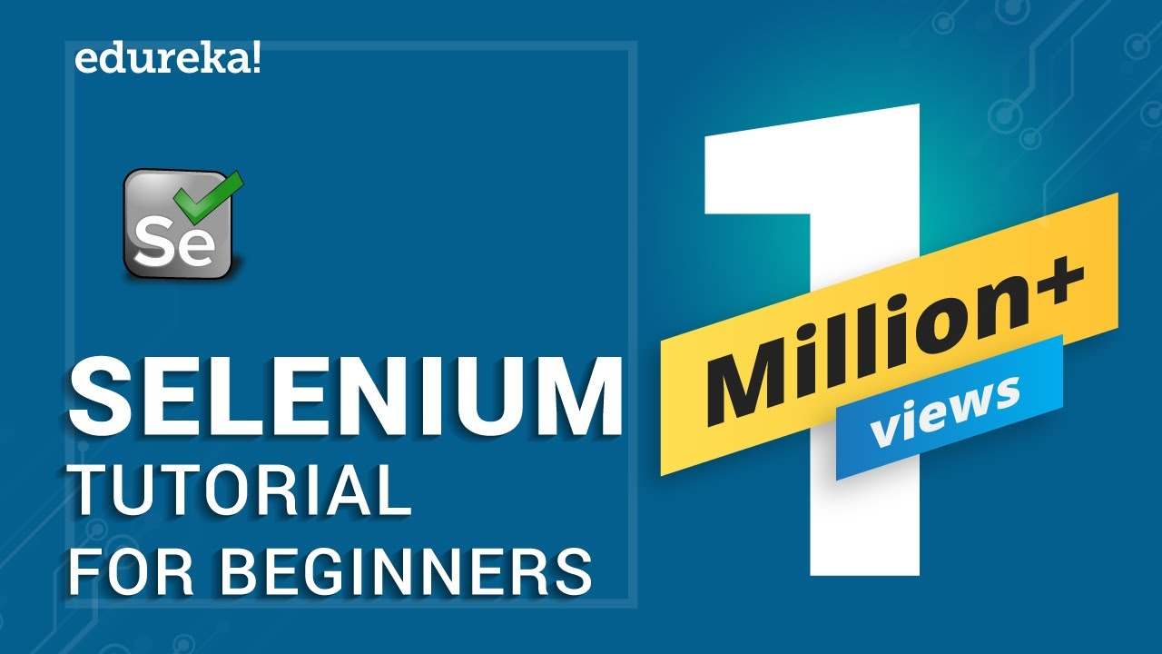 Selenium Tutorial For Beginners - Selenium Automation Testing Tutorial