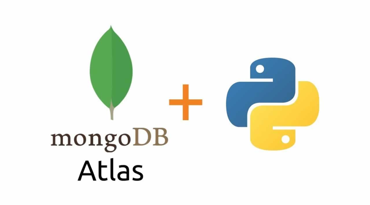 Interaction between Python and MongoDB Atlas