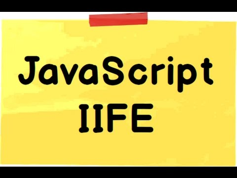 """what is the Immediately invoked function expression """"IIFE"""""""