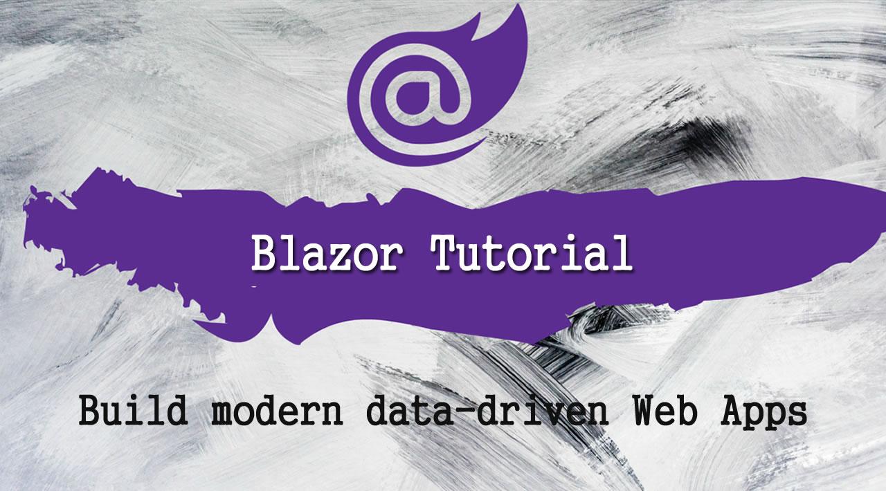 Build modern data-driven Web Apps with Microsoft Blazor and Dapper