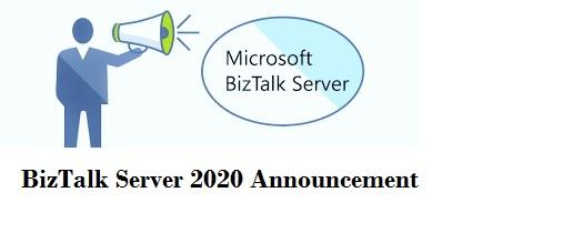 BizTalk Server 2020 Announcement