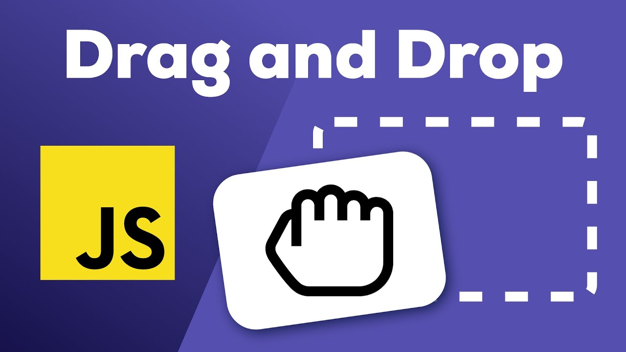 Drag and Drop (arrastra y suelta) en Javascript