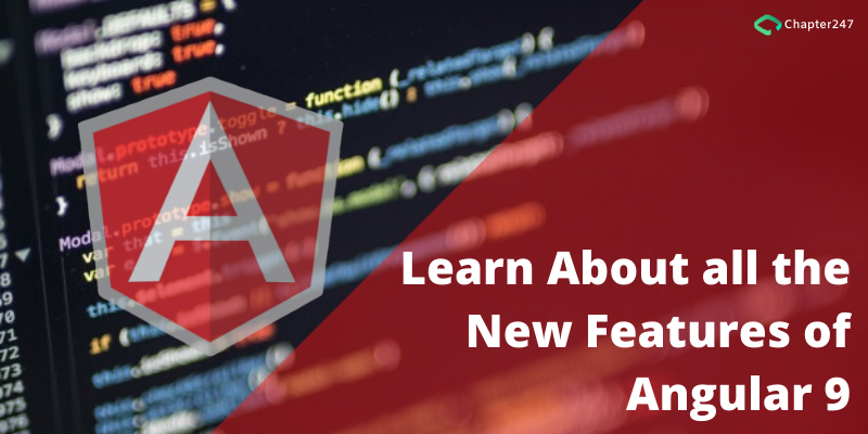 Learn about all the new features of Angular 9