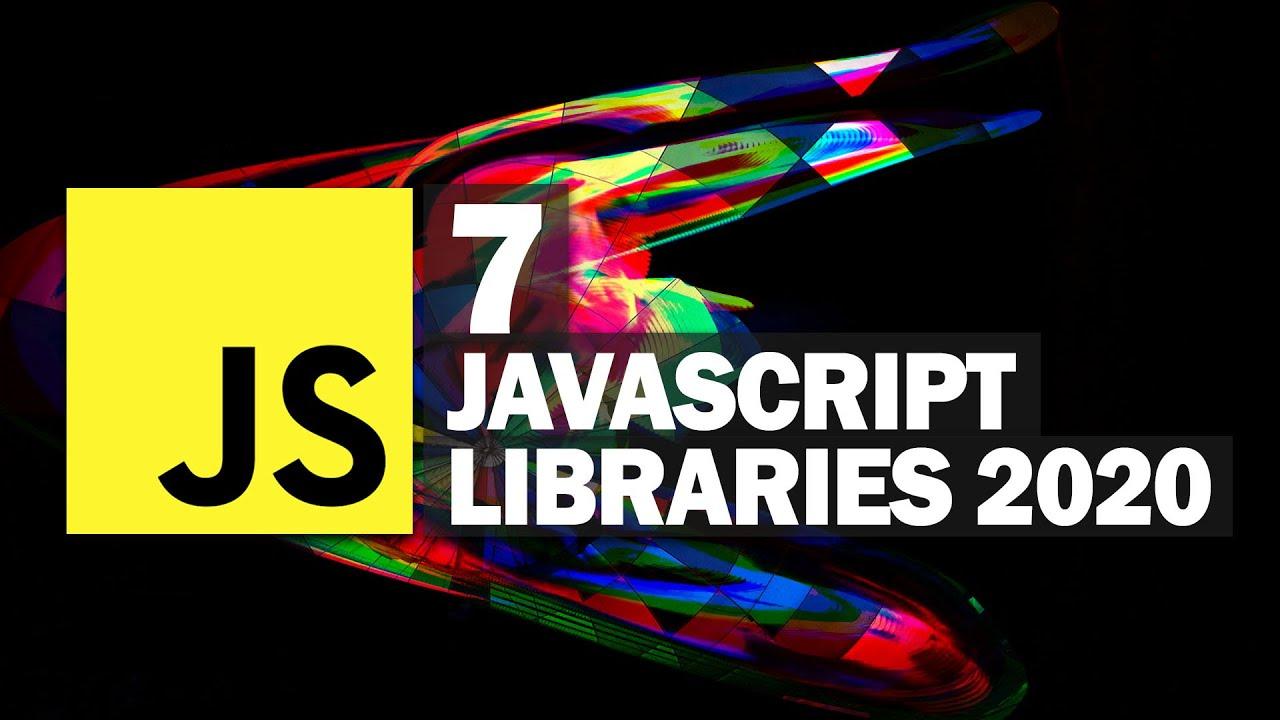 7 Most Popular JavaScript Libraries 2020