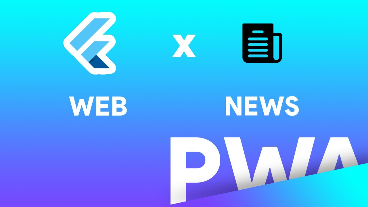 Build News Website using Flutter Web PWA