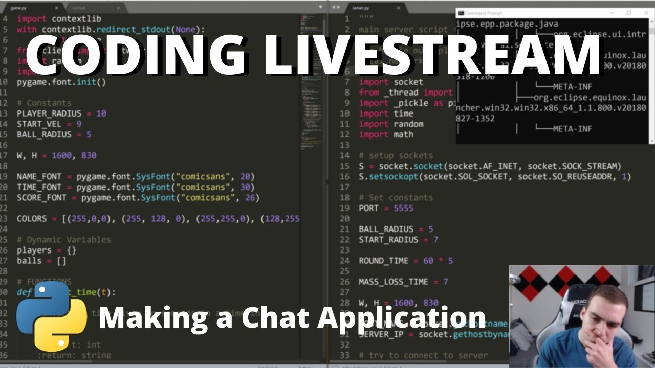 Creating an Online Chat App with Python