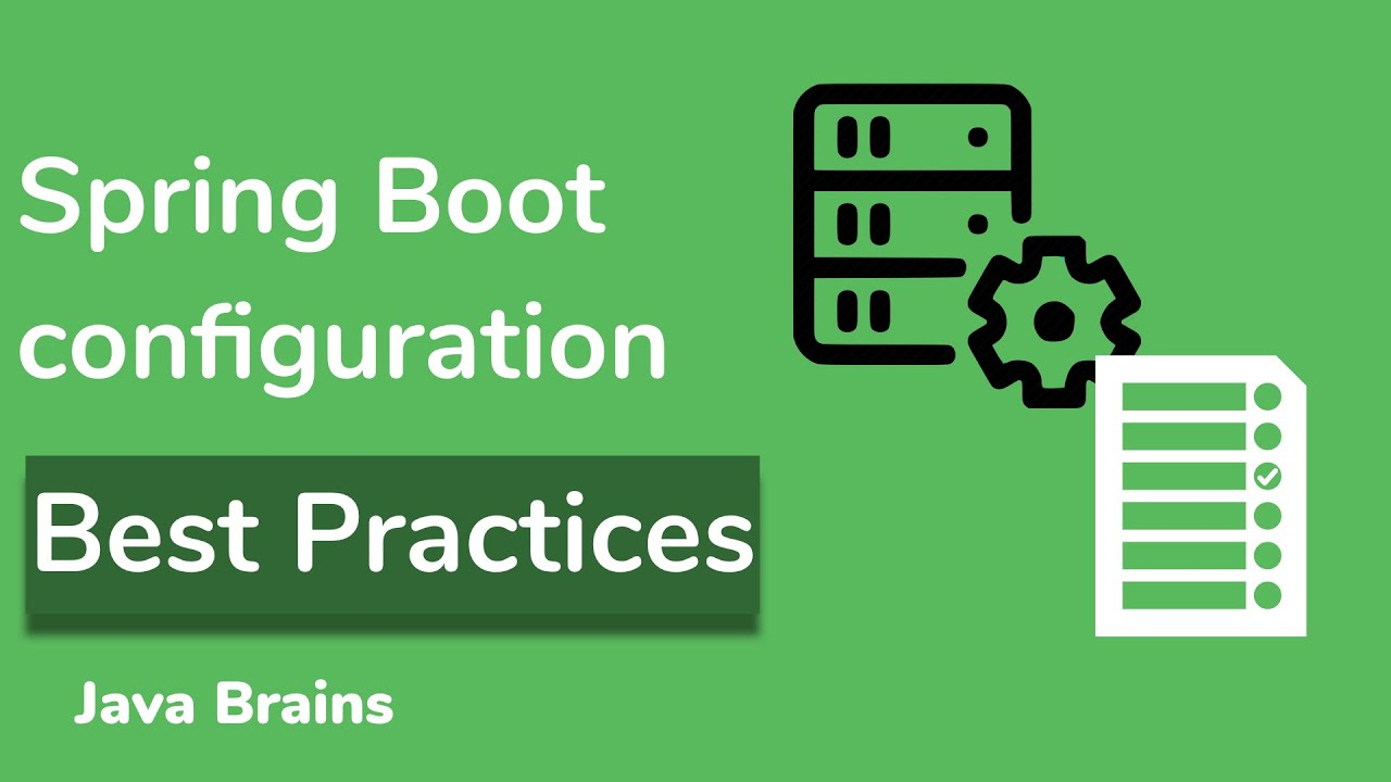 Spring Boot Best Practices for Microservices