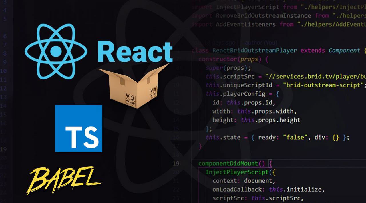 Building a React component with TypeScript, Babel and Parcel