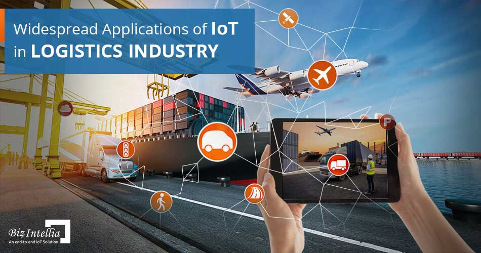 Applications of IoT in Logistics Industry