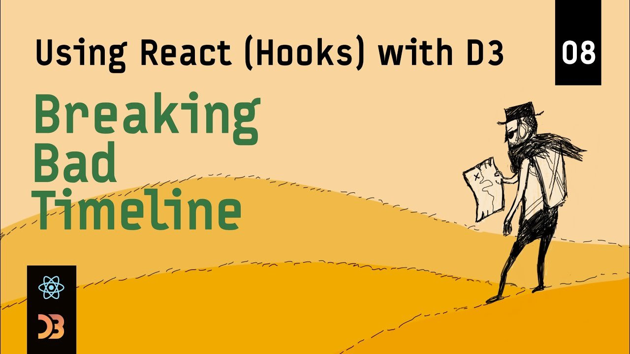 Using React (Hooks) with D3 – Breaking Bad Timeline