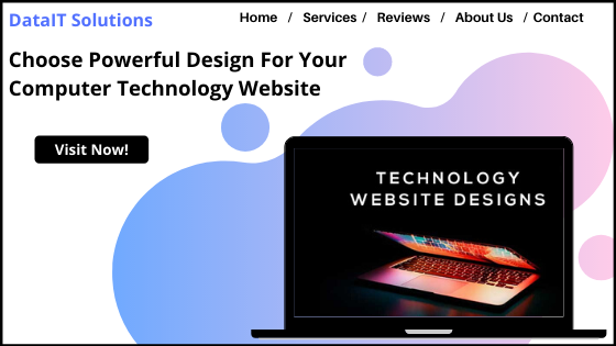 Computer Technology Website Design