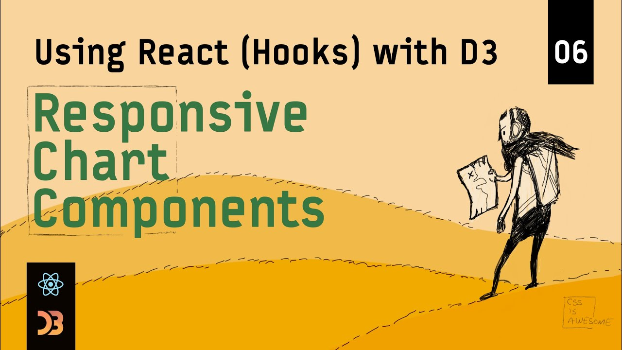 Using React (Hooks) with D3 – Responsive Chart Components