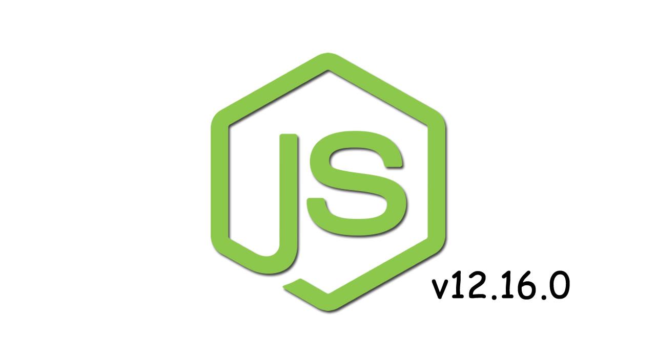 Node v12.16.0 (LTS)