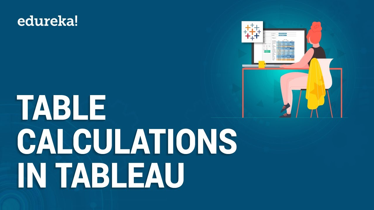 Table Calculations in Tableau | Tableau Table Calculations Tutorial