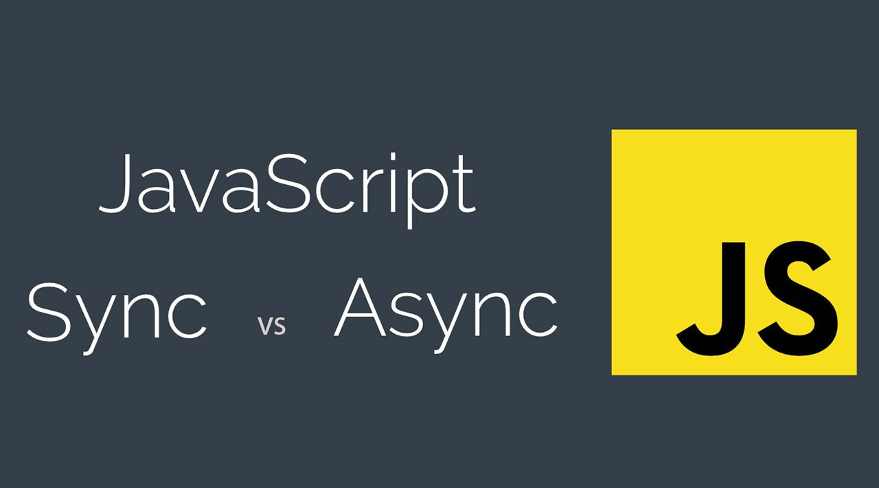 Async Vs Sync Programming in JavaScript Explained By Examples 2020