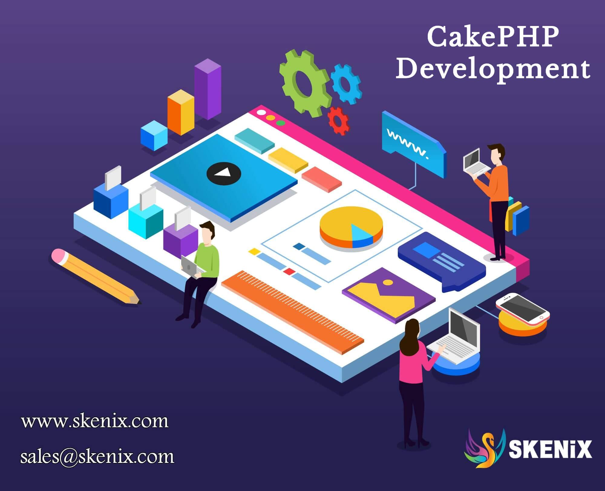 CakePHP Development Company | Hire CakePHP Developers | Skenix