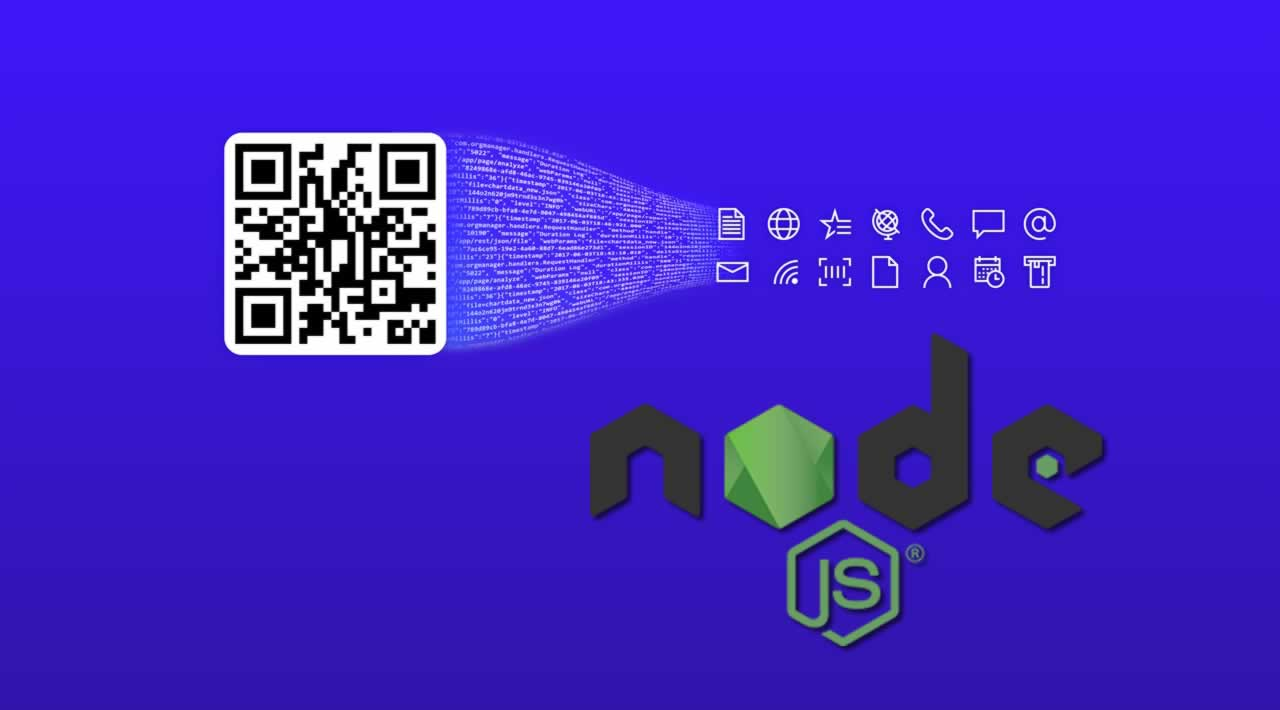 How to Create and Read QR Code in Node.js