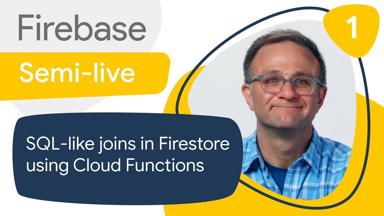 SQL-like joins in Cloud Firestore #1: Getting the sample app up and running