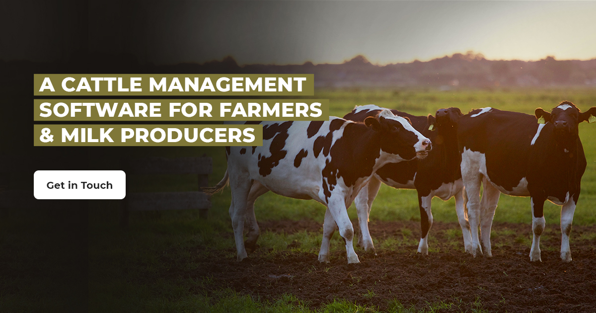 A Cattle Management Software for Farmers & Milk Producers